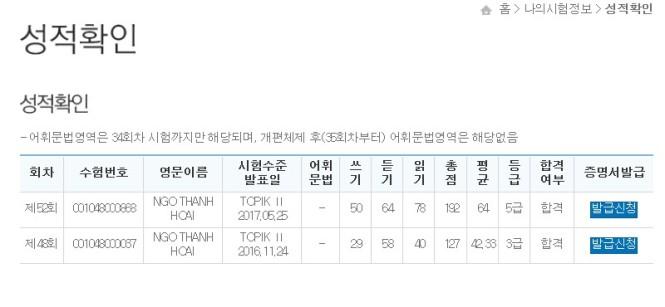 6- 한국어능력시험 성적증명서